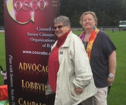 Lorraine Logan (president) and Gudrun Langolf (VP)